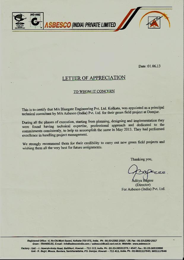 Appreciation-letter